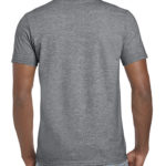 Gildan Softstyle t-shirt - Graphite Heather- back