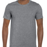 Gildan Softstyle t-shirt - Graphite Heather - front