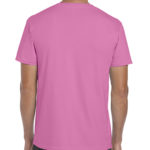 Gildan Softstyle t-shirt - azalea - back