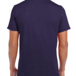Gildan Softstyle t-shirt - blackberry- back