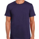 Gildan Softstyle t-shirt - blackberry- front