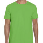 Gildan Softstyle t-shirt - electric green- front