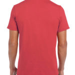 Gildan Softstyle t-shirt - heather red- back