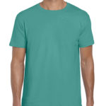 Gildan Softstyle t-shirt - jade dome - front