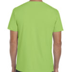 Gildan Softstyle t-shirt - lime - back