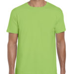 Gildan Softstyle t-shirt - lime - front