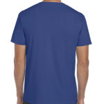 Gildan Softstyle t-shirt - metro blue -back