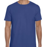 Gildan Softstyle t-shirt - metro blue -front