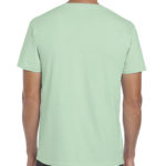 Gildan Softstyle t-shirt - mint green- back