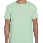 Gildan Softstyle t-shirt - mint green- front