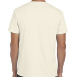 Gildan Softstyle t-shirt - natural- back