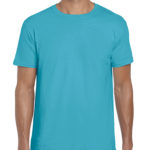 Gildan Softstyle t-shirt - tropical blue -front