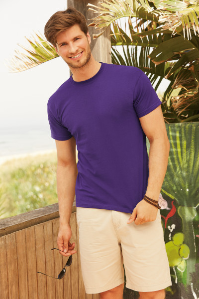 Fruit of the Loom Original t-shirt in purple