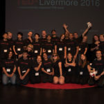 TEDxLivermore budget t-shirts in black