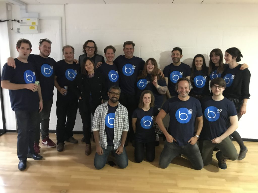 The brilliant Buyapowa, with their team t-shirts. For sure they know all the things you need to know before ordering custom t-shirts