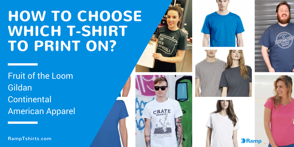 How to choose which t-shirt to print on