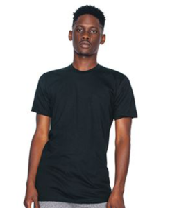 American Apparel Fine Jersey AA001-t-shirt to print on