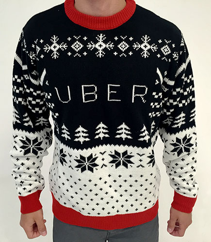 Christmas business gifts for employees UBER