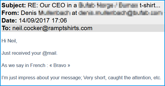 "How we wrote and sent the "" best cold email ever "" 