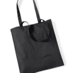 TOTE BAG-W101- BLACK