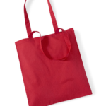 TOTE BAG-W101- CLASSIC RED
