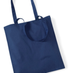 TOTE BAG- W101-FRENCH NAVY