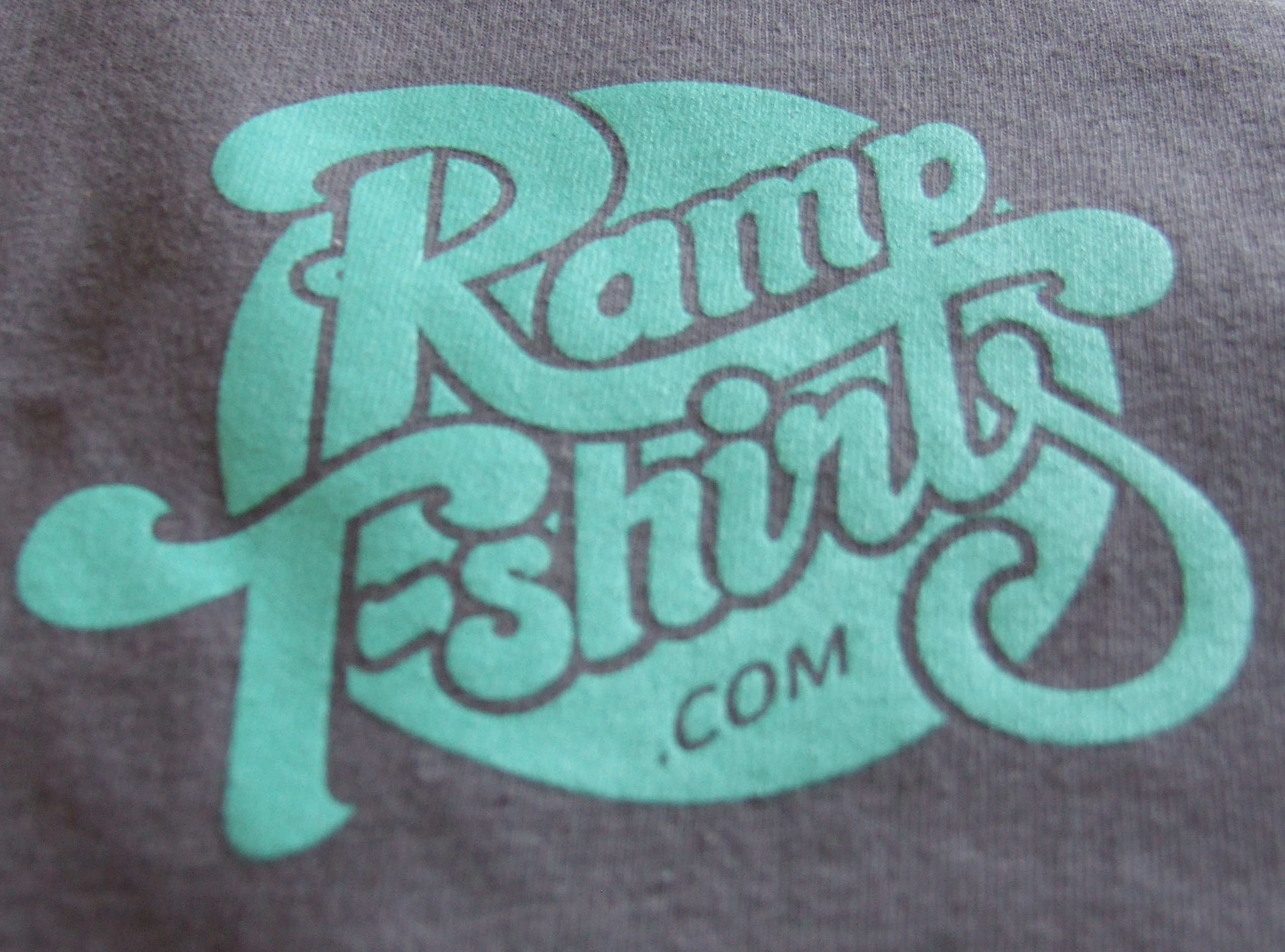 Ramp t-shirts Limited T-shirt detail
